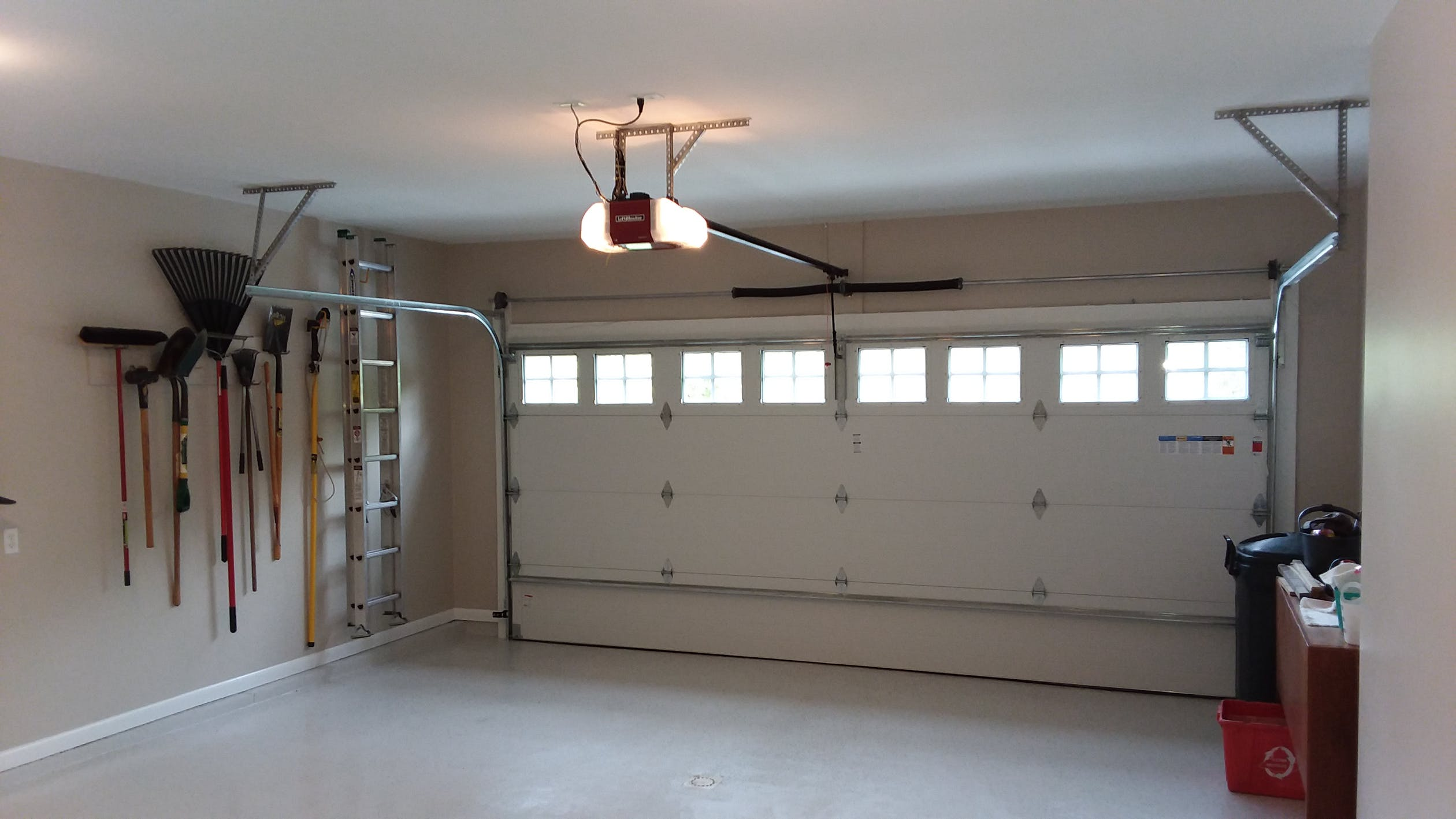 Garage Door Opener Reception