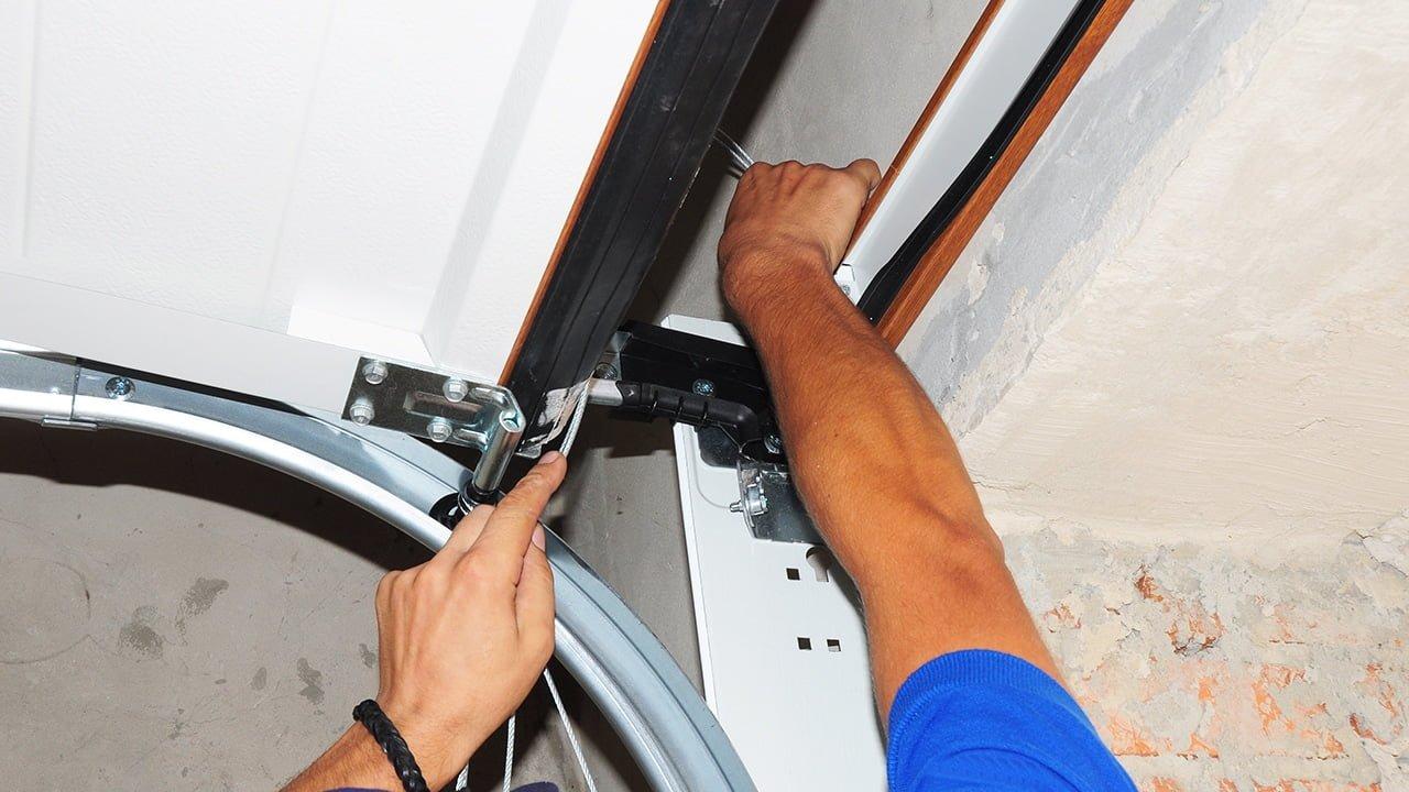 How To Fix Dented Garage Door